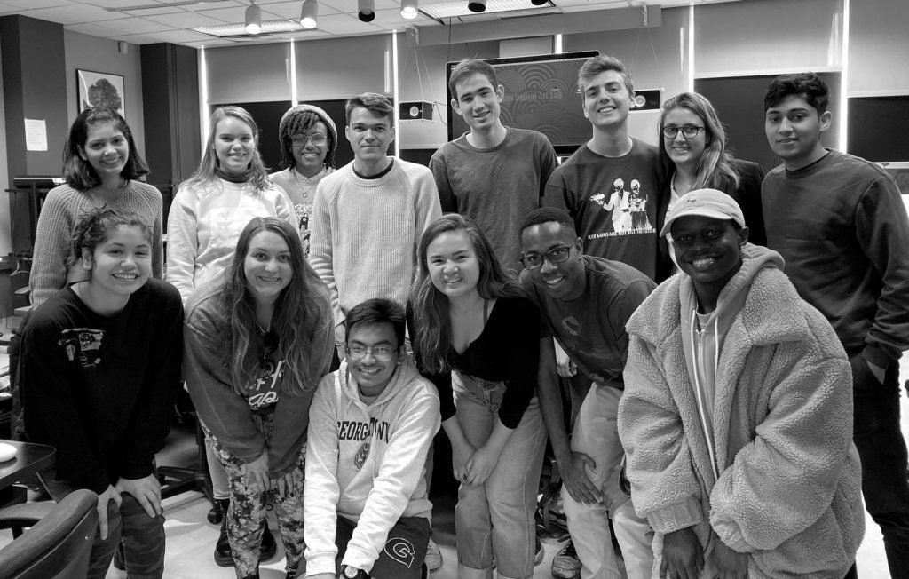 Juniors in the Film and Media Studies Program.
